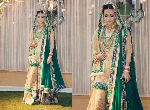 Dia Mirza- Top 10 Famous Indian Celebrity Wedding Dresses Trends (1)