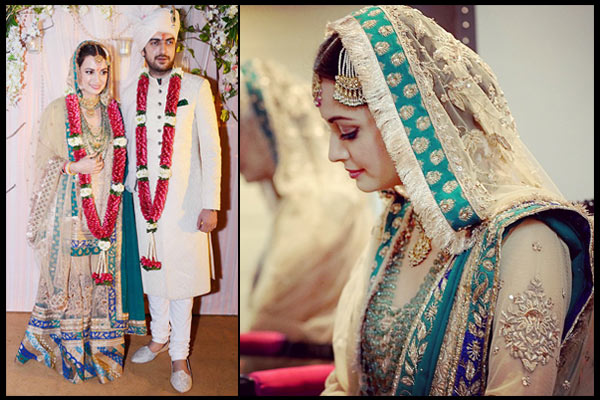 Dia Mirza- Top 10 Famous Indian Celebrity Wedding Dresses Trends (2)