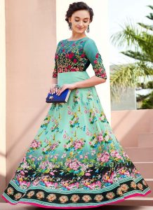 Umbrella Cut Dress Designs & Frocks Styles