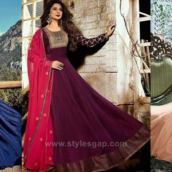 Latest Umbrella Cut Dresses Frocks Designs 2020-21 Collection