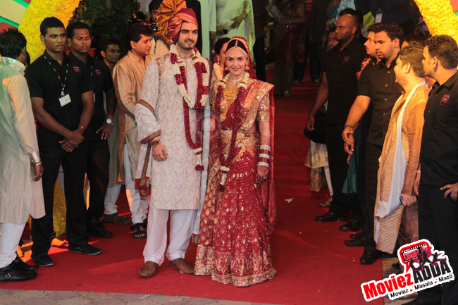Esha Deol- Top 10 Famous Indian Celebrity Wedding Dresses Trends (1)
