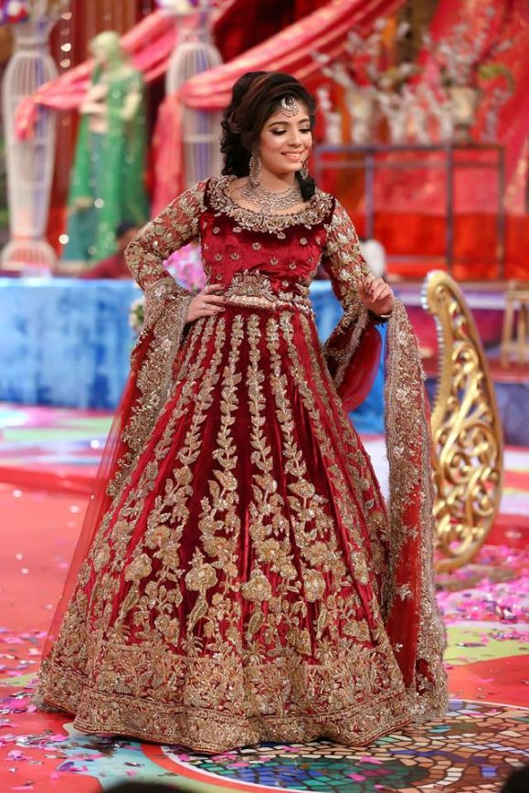 Latest Asian Bridal Wedding Gowns