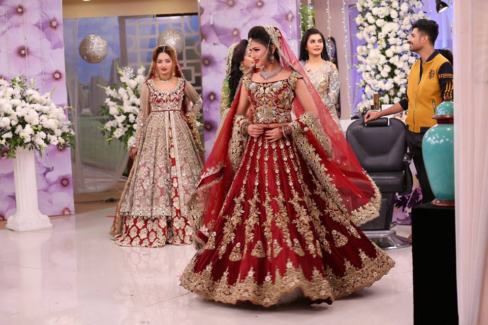 Latest Asian Bridal Wedding Gowns Designs 2018-2019 Collection