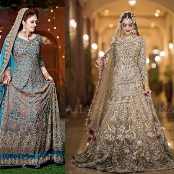 Latest Asian Bridal Wedding Gowns Designs 2020 Collection