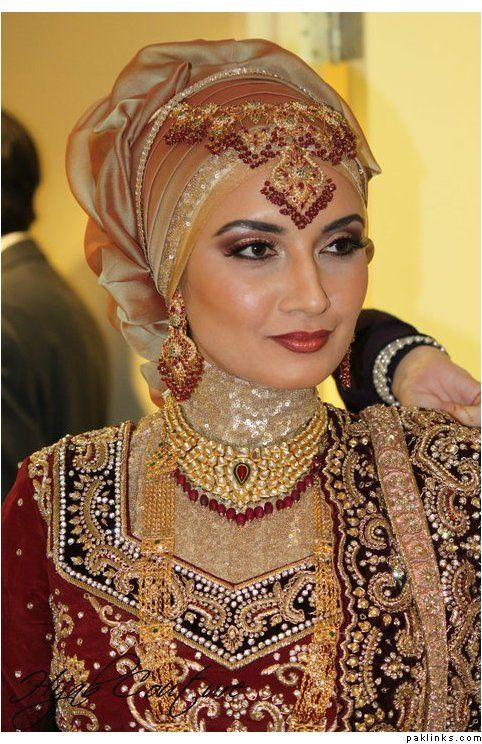 Latest Bridal Hijab Dresses Designs & Styles 2016-2017