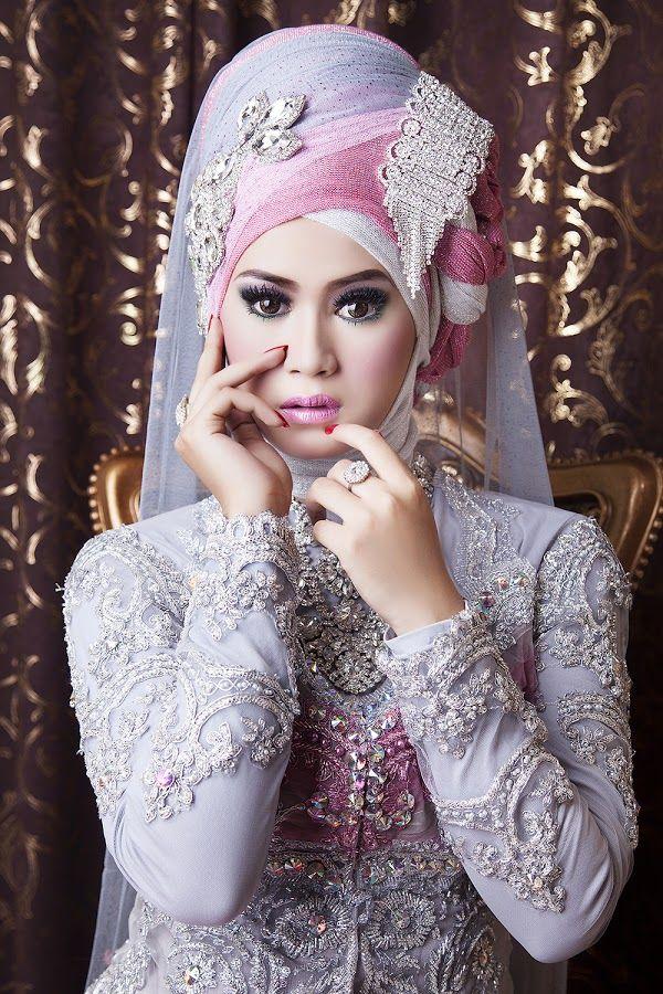 Latest Bridal Hijab Dresses Designs & Styles 2016-2017