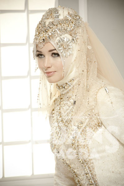 Latest Bridal Hijab Dresses Designs Amp Styles 2016 2017