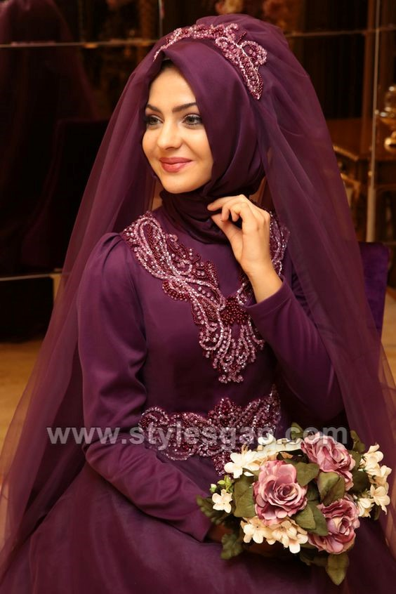 7085b2d0401d Hope you will love this beautiful Latest Bridal Hijab Styles Dresses  Designs Collection.
