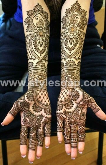 Mehndi Bridal Collection : Latest bridal mehndi designs collection  for
