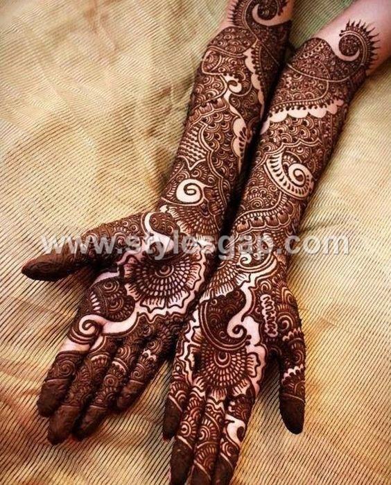 Mehndi Unique Design 2018 : Latest bridal mehndi designs collection  for