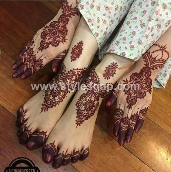 Latest Bridal Mehndi Designs Collection 2019,2020 for