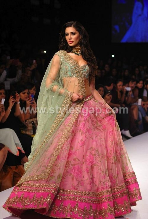 Latest Lehenga Choli Trends & Designs Collection (12)