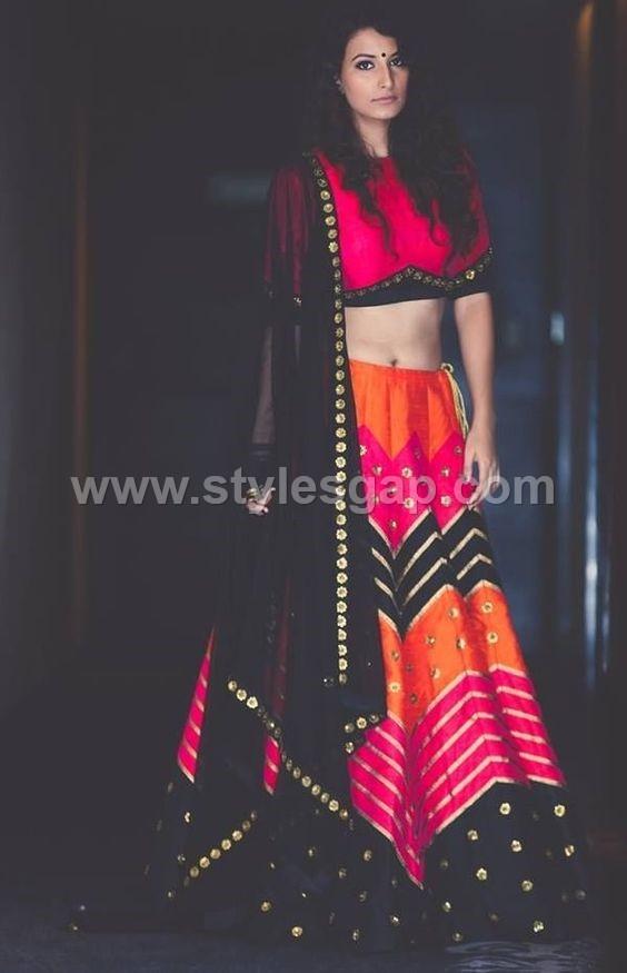 Latest Lehenga Choli Trends Designs 2018 19 Pakistani Indian Fashion