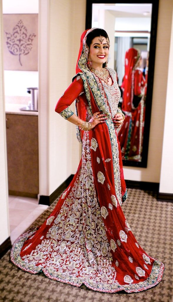 Indian Bridal Wear 2017 Red 10
