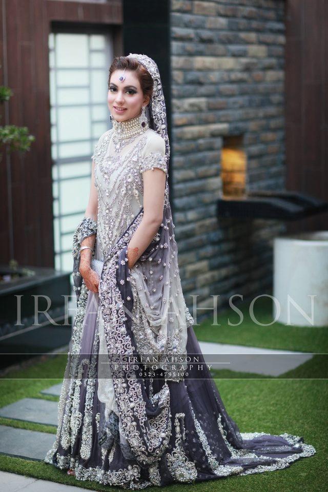 Latest Pakistani Wedding Lehenga Dresses Collection 2016-2017 (5)