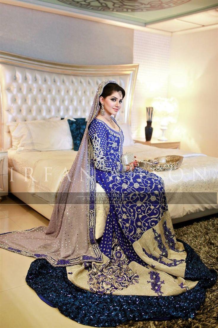 Pakistani Bridal Lehenga Dresses Designs Styles 2018 2019