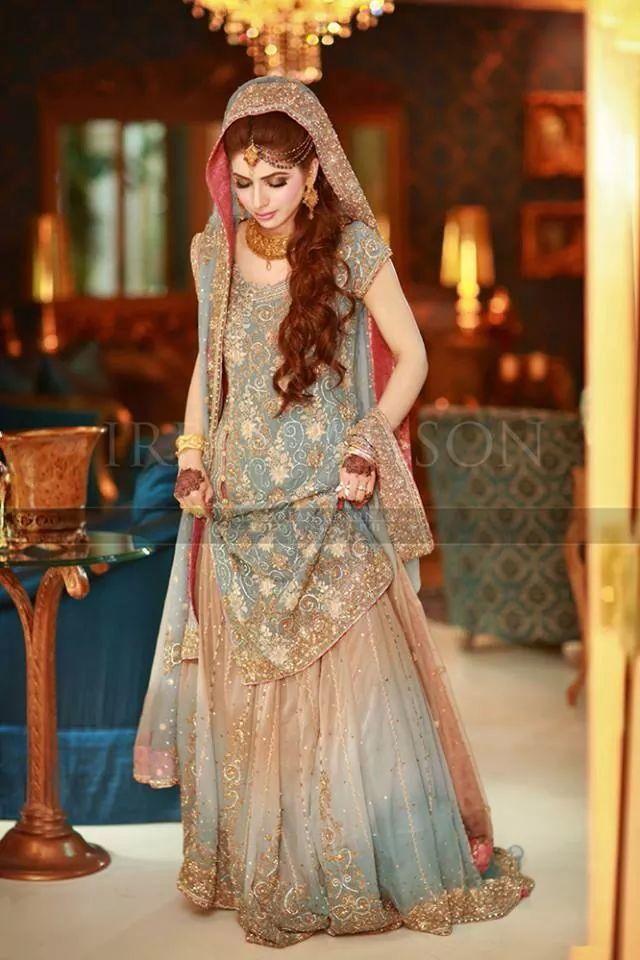 Latest Pakistani Wedding Lehenga Dresses Collection 2016-2017 for Brides (11)