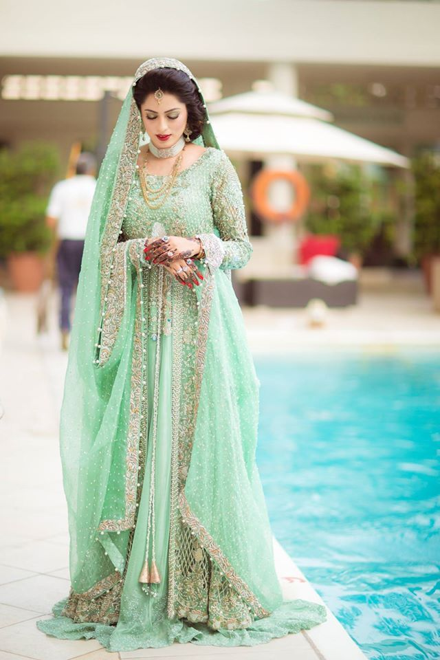 New Asian Fashion Latest Enement Bridal Dresses Collection For Bridals Stani 2018 113