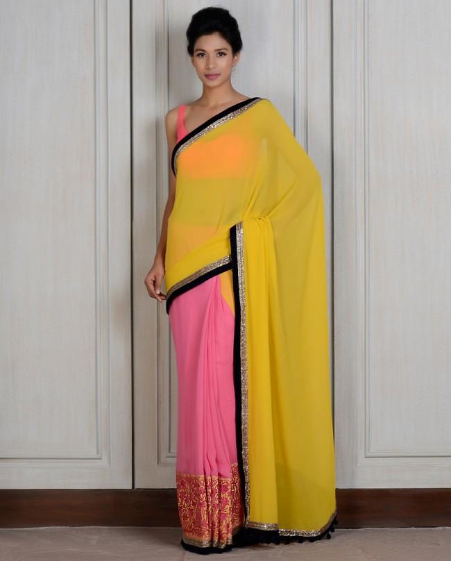 Manish Malhotra Latest Saree Designs Collection 2016-2017 (26)