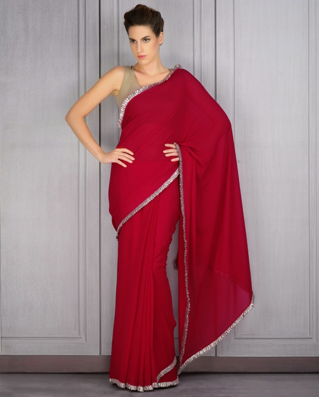 Manish Malhotra Latest Saree Designs Collection 2016 2017 8 Stylesgap Com