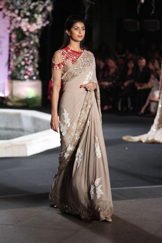 manish malhotra latest designer saree collection 20182019