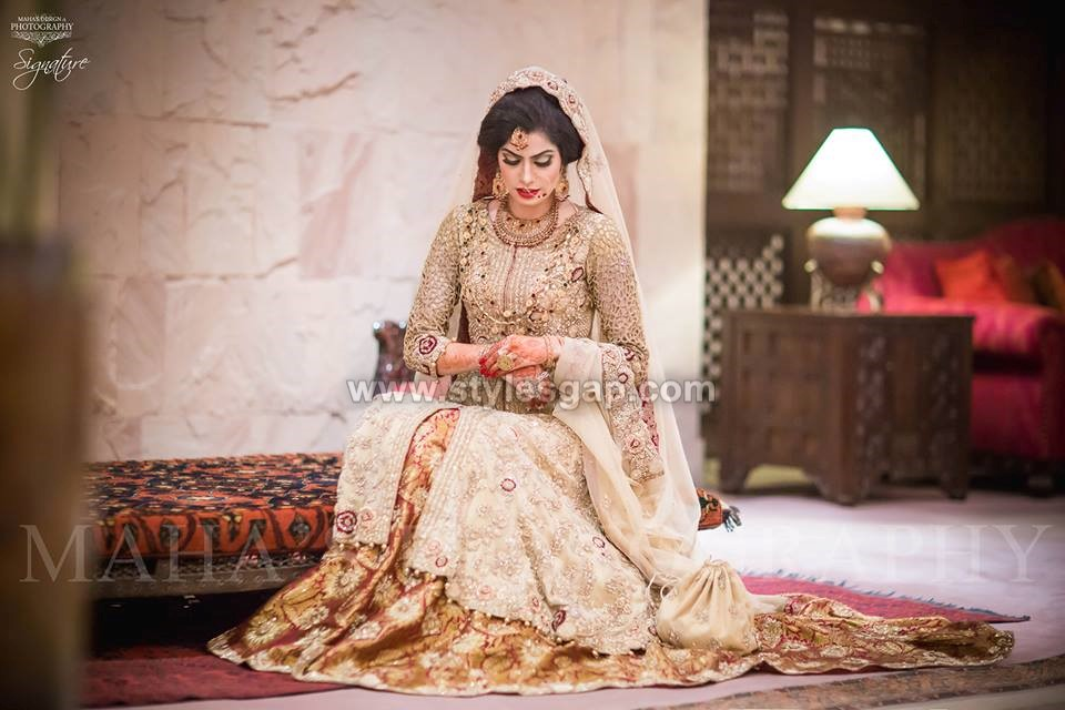 Pakistani Bridal Lehenga Dresses Designs Styles 2018-2019