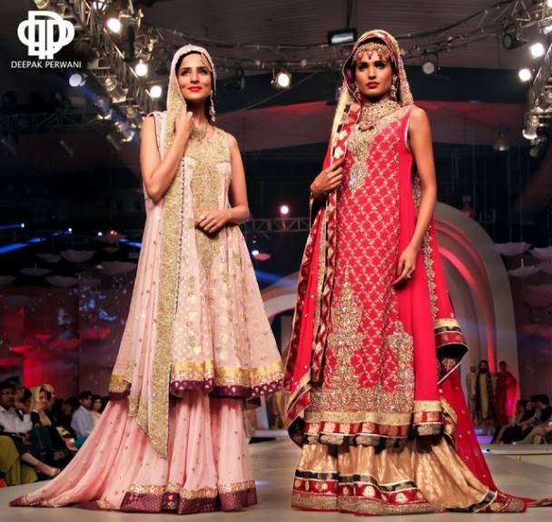 Pakistani Bridal Lehenga Dresses Designs & Styles 2016-2017 Collection (13)
