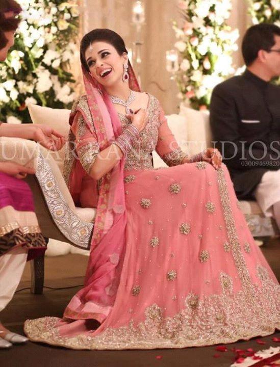 Pakistani Bridal Lehenga Dresses Designs & Styles 2016-2017 Collection (16)
