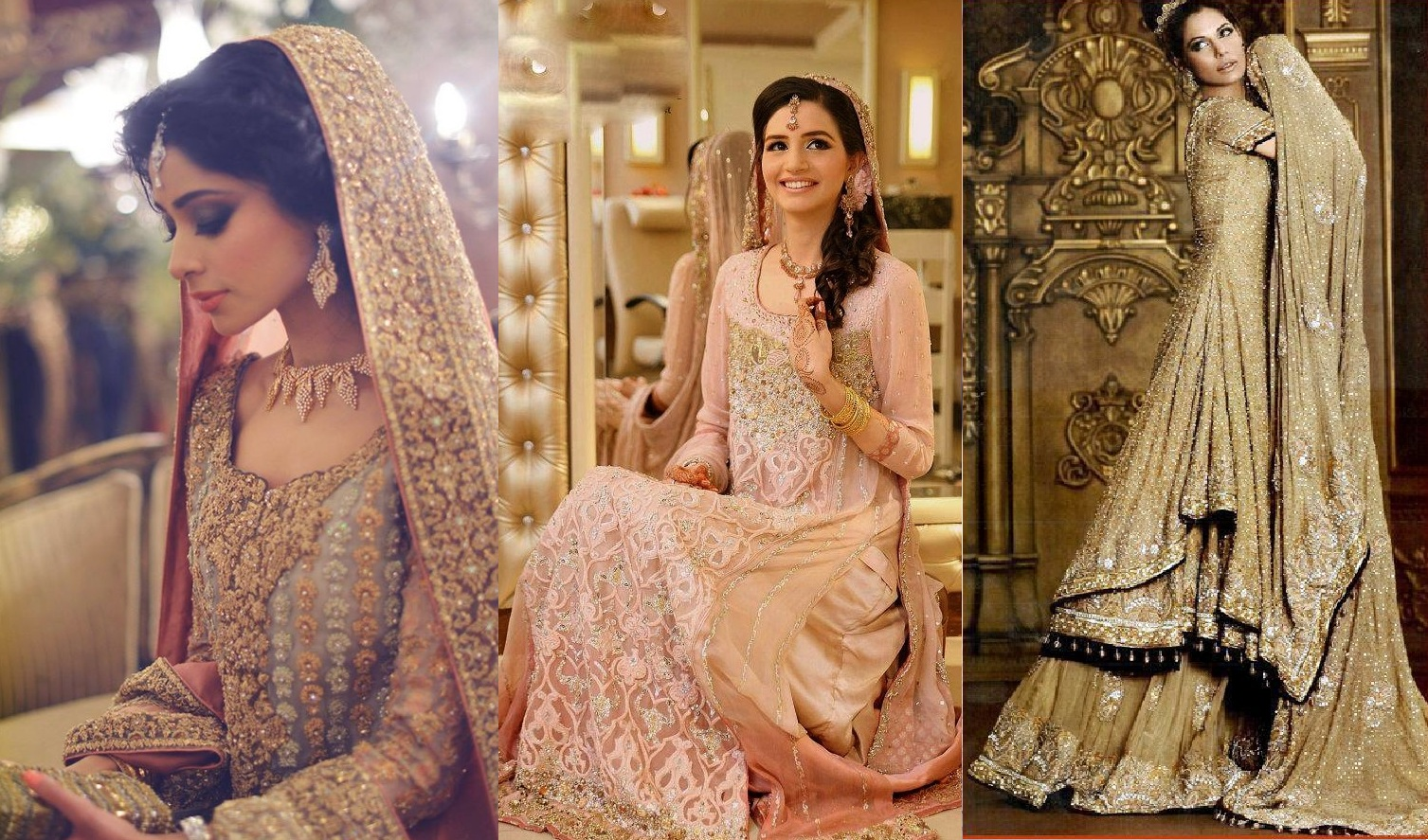 Pakistani bridal lehenga dresses designs styles 2016 2017 for Online pakistani wedding dresses