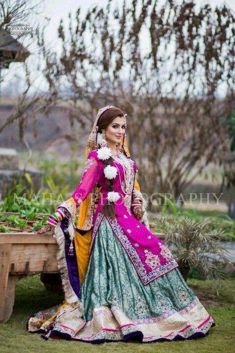 Pakistani Bridal Lehenga Dresses Designs & Styles 2016-2017 Collection (19)