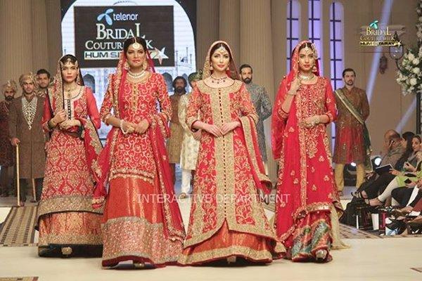 Pakistani Bridal Lehenga Dresses Designs & Styles 2016-2017 Collection (21)