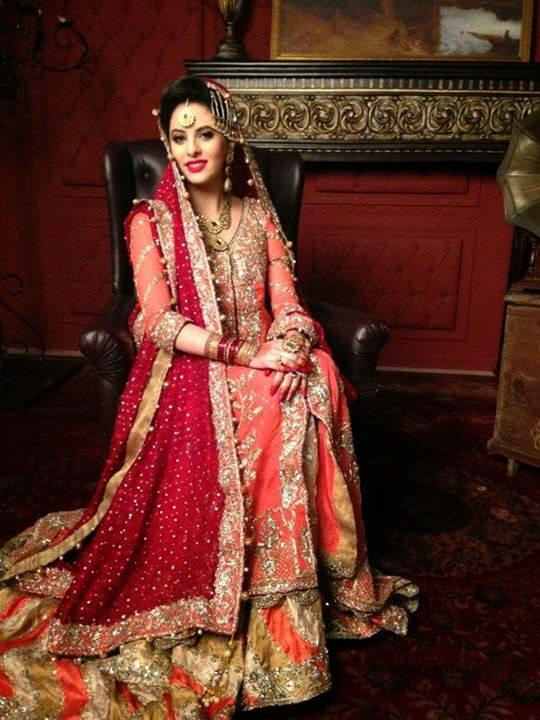 Pakistani Bridal Lehenga Dresses Designs & Styles 2016-2017 Collection (3)
