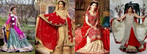 Pakistani Bridal Lehenga Dresses Designs & Styles 2016-2017 Collection