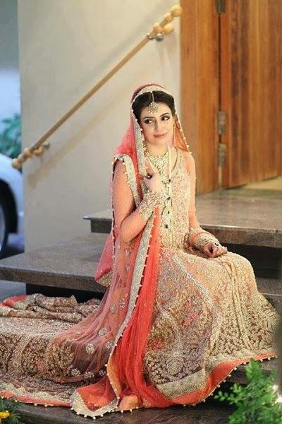 Pakistani Bridal Lehenga Dresses Designs & Styles 2016-2017 Collection (6)
