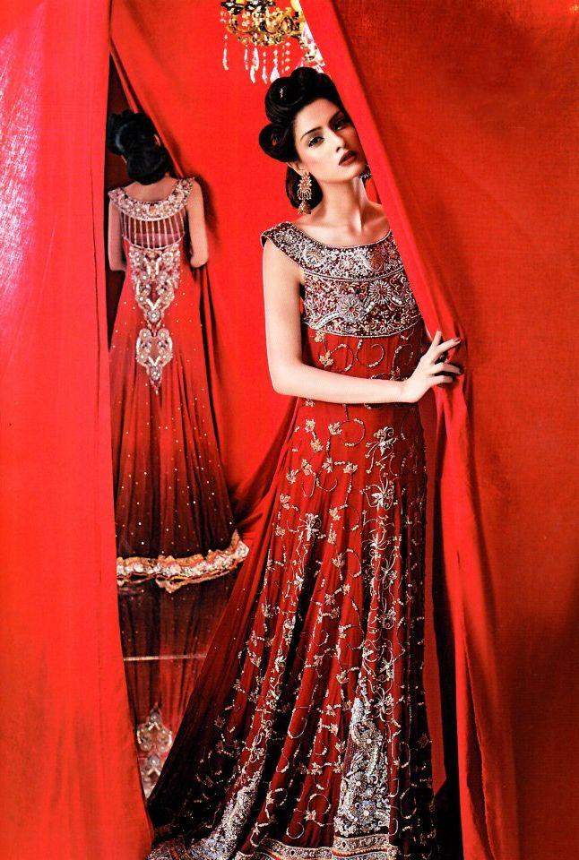 Pakistani Bridal Lehenga Dresses Designs & Styles 2016-2017 Collection (7)