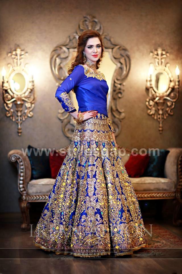 Mehndi Lehenga Design 2018 : Pakistani bridal lehenga dresses designs styles