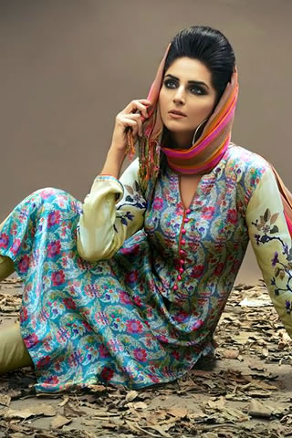 Pareesa by ChenOne Winter Collection for Women 2015-2016 (3)
