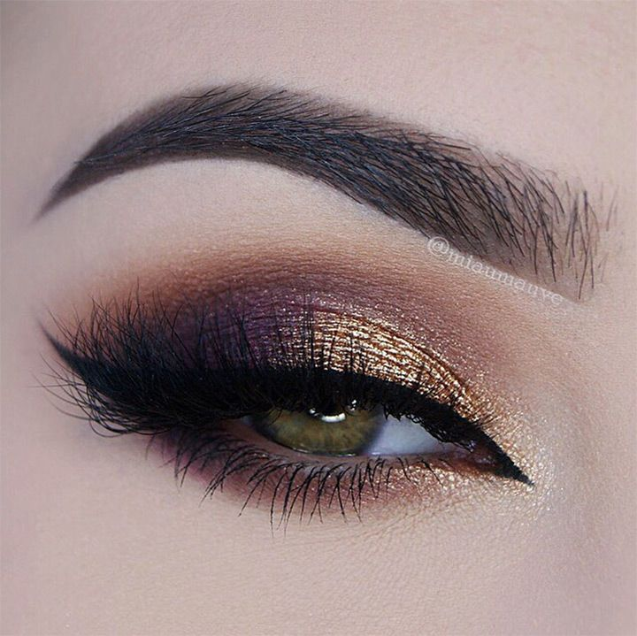 Party Wear Eye Makeup tutorial & Tips (3)