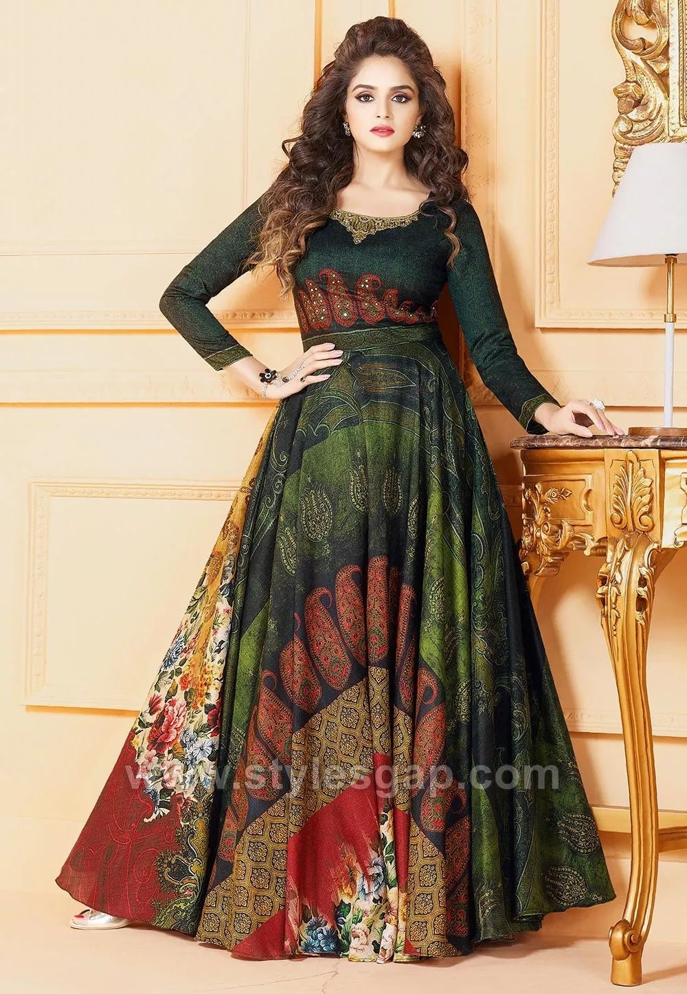 Umbrella Cut Dress Designs Amp Frocks Styles 2018 19 Collection