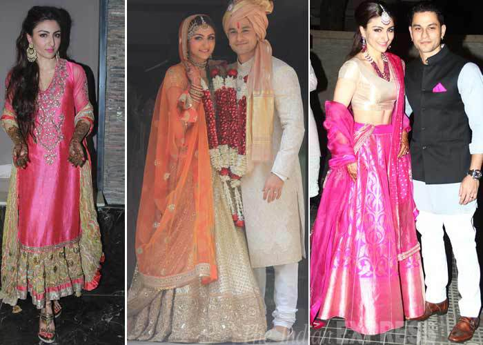 Soha Ali Khan- Top 10 Famous Indian Celebrity Wedding Dresses Trends (2)