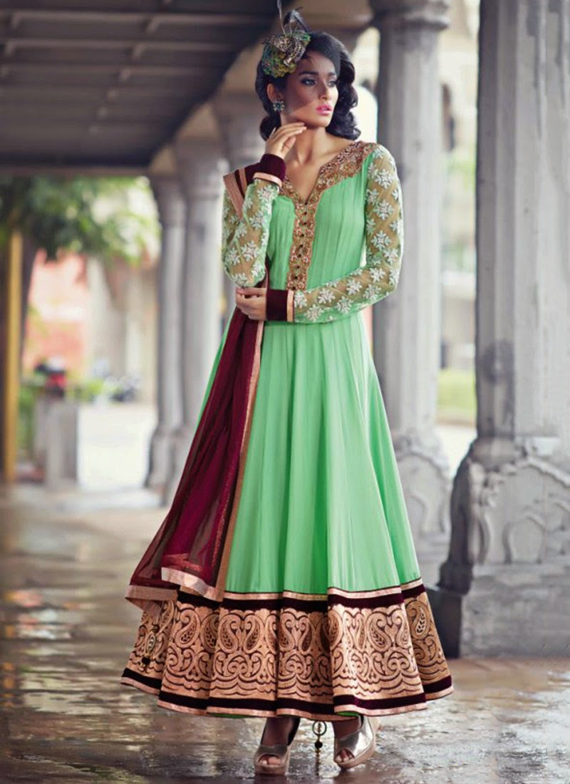 Umbrella Frocks Designs & Styles Latest Collection 2016-2017