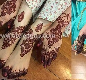 Latest Bridal Mehndi Designs Collection 2017-2018 for Wedding Brides