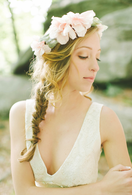14- FISHTAIL FLORAL STYLE