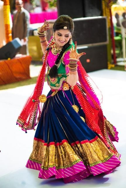 Indian Ghagra Choli Designs Collection 2016-2017 (11)