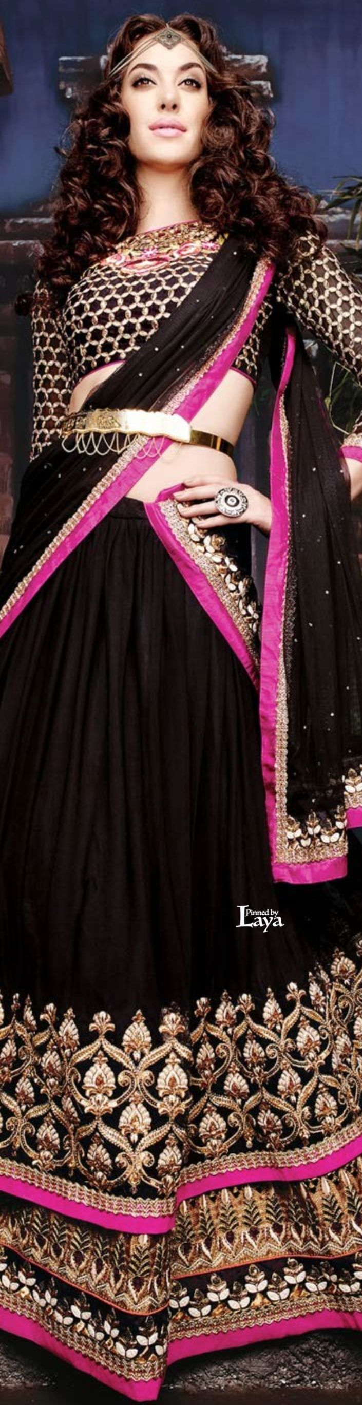 Indian Ghagra Choli Designs Collection 2016-2017 (12)
