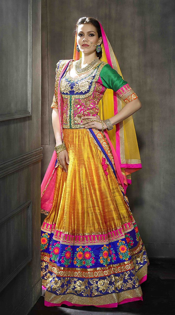 Indian Ghagra Choli Designs Collection 2016-2017 (3)