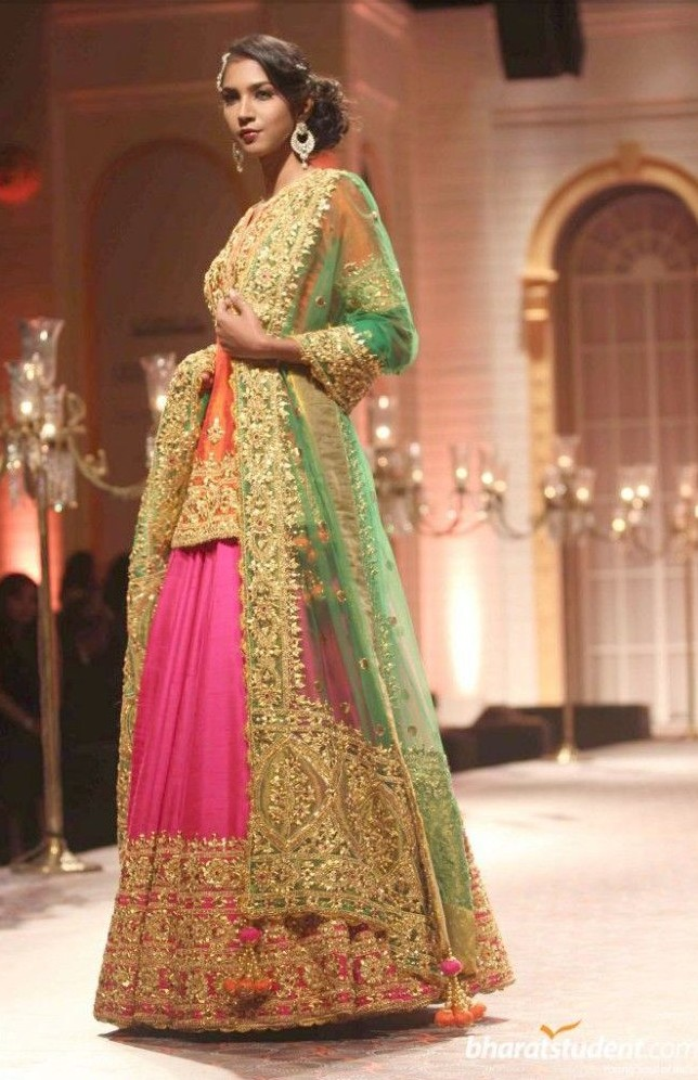 Indian Ghagra Choli Designs Collection 2016-2017 (4)