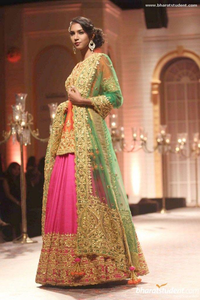 a80bc4c940 Indian Pakistani Ghagra/ Lehenga Choli Designs Collection 2019-2020