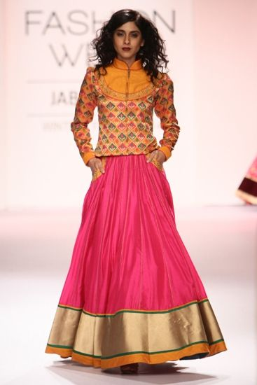 Indian Ghagra Choli Designs Collection 2016-2017 (7)