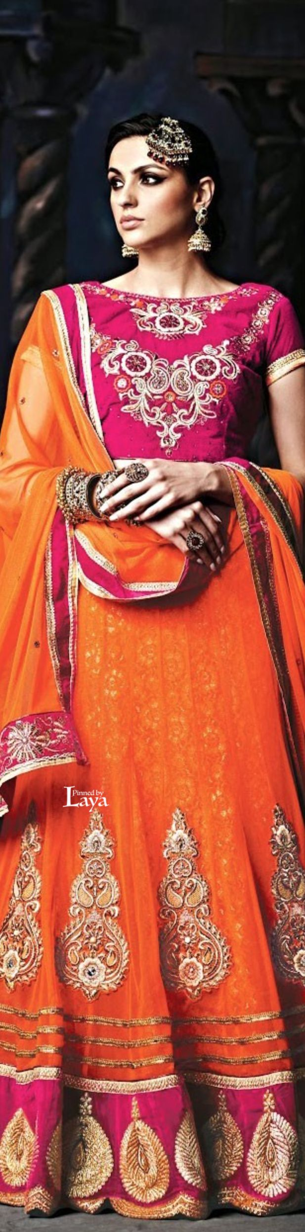Indian Ghagra Choli Designs Collection 2016-2017 (9)
